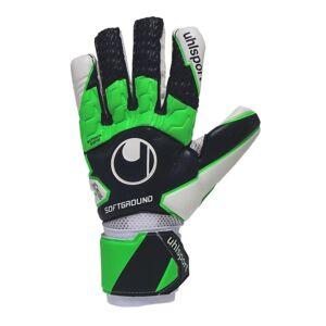 UHLSPORT SOFT HN COMPETITION Keepershandschoenen Zwart Groen - 10 ½