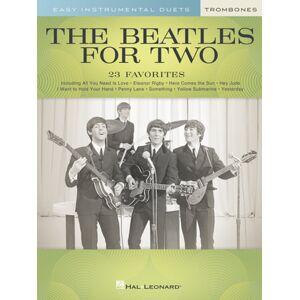 Hal Leonard The Beatles For Two Trombone