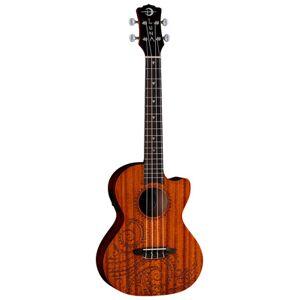 Luna Guitars Uke Tattoo Mahogany Tenor PU