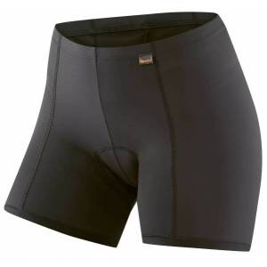 Gonso fietsonderbroek Sitivo U dames polyamide zwart/blauw