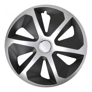 ProPlus wieldoppen Roco 15 inch zilver/zwart set van 4