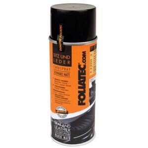 Foliatec Seat & Leather Color Spray400 ml zwart (mat)