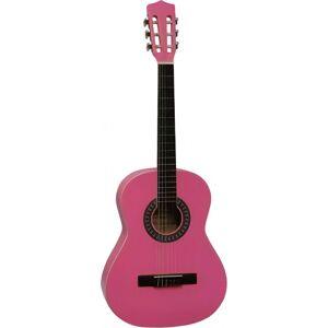 Gomez gitaar Classic 6 snaren 93 cm roze
