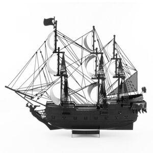 Metal Earth Iconx Black Pearl modelbouwset zwart