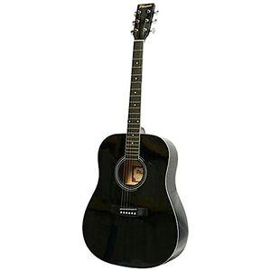 Phoenix gitaar Western 001 dreadnought 105 cm zwart