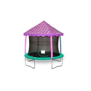 Jumpking trampoline Canopy tent vlinders 4,27 meter paars