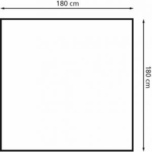 Eurotrail schuurtent 3 180 x 180 x 200 cm polyester/staal grijs - Grijs