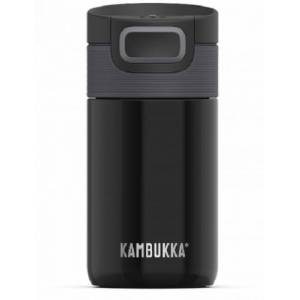 Kambukka thermosbeker Etna RVS zwart 300 ml - Zwart