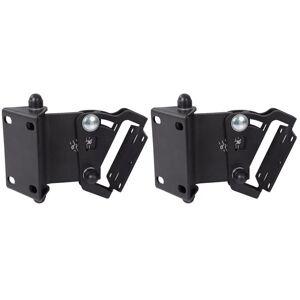 HQ-Power HQ Power muurbeugel luidsprekers 6 x 9 cm staal zwart 2 stuks