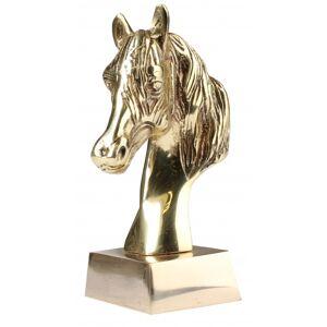 HORKA paardenbeeld goud 11 x 6 cm