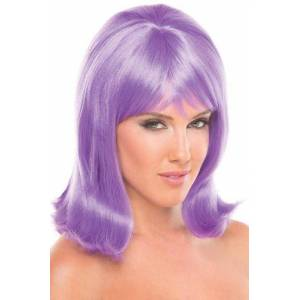 Be Wicked Wigs Doll Pruik - Lichtpaars -
