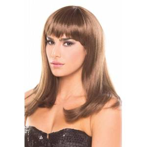 Be Wicked Wigs Hollywood Pruik - Bruin -