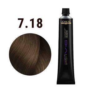 L'Oréal Professionnel Dia Light Cendre 7.18 V150 50 ml