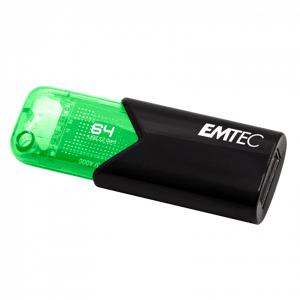 EMTEC USB 3.2 Geheugenstick 64GB Click B110 Groen Groen