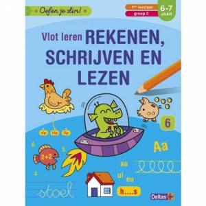 AVA selection Oefen Je Slim: Vlot Leren Rekenen, Schrijven En Lezen