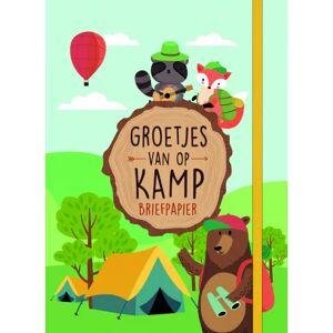 AVA selection Briefpapier Groetjes Van Op Kamp Bosdieren