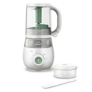 Avent Robot cuiseur-mixeur 4-en-1 pour bébé SCF885/01
