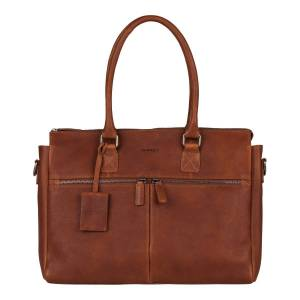 "Burkely Antique Avery 15.6"" laptop bag -Cognac"