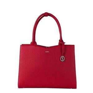 """Socha Business bag Midi, 13.3"""" laptop bag for women -Cherry Red"""