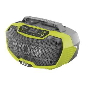 Ryobi R18RH-0 Akku Radio met Bleutooth 18 Volt excl. accu's en lader