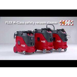 Flex-tools VCE44M AC-KIT Veiligheidsstofzuiger met automatische filterreiniging, 42 L, klasse M + reinigingsset