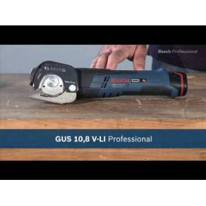 Bosch Blauw GUS 12V-300 Universele accuschaar 12 Volt 2,0Ah Li-ion in L-Boxx 06019B2904