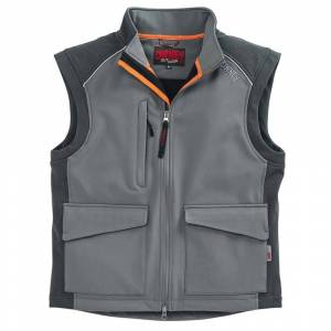 OWNEY Softshell-vest Companion - grijs - XXXL