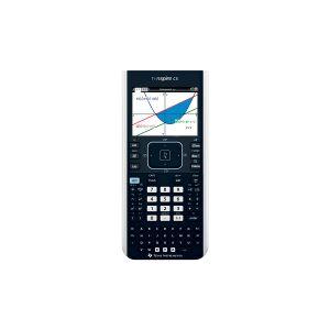 Texas Instruments TI-Nspire CX II-T kleur grafische rekenmachine, zwart/wit   Texas-Instruments