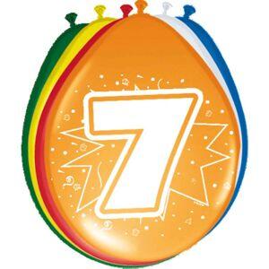 7 Jaar Ballonnen - 8 stuks