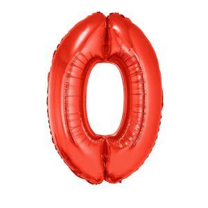 Folie ballon 102 cm rood