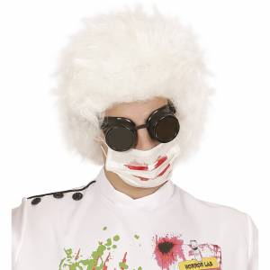 Bloederig mondkapjes voor carnaval