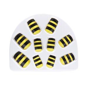 Feestaccessoires: setje van 10 bijennagels