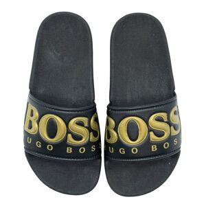 Sandalen/Slippers zwart  - zwart - Size: 30