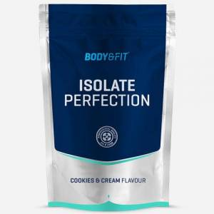 Body & Fit Isolate Perfection - Body & Fit - Cookies & Cream Sensation - 4000 Gram (142 Shakes)