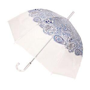Paraplu Transparant Paisley Blauw