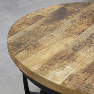 Dimehouse Industriële salontafel Oxis 70 cm
