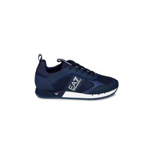 EA7 Emporio Armani Sneakers - Maat 41 1/3 - Kleur: Blauw   Soccerfanshop