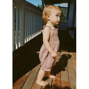 MANGO BABY Boxpakje met strikbandjes  - Roze - Size: 1-3