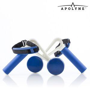 Apolyne Walk&Weight Gewichtsmanchetten met Handgrepen (pak van 2) - Home Fitness