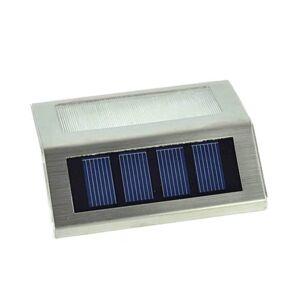 RVS Solar LED Buitenlamp Verlichting Tuinlamp Trapverlichting 4 stuks