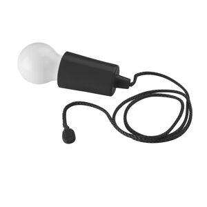 Geeek LED Licht Trekkoord Lamp Lichtbulb - LED Peertje - LED Campinglamp Zwart