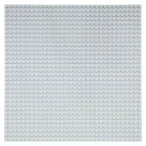 Geeek Grote Grondplaat Bouwplaat voor Lego Bouwstenen Grijs 32 x 32
