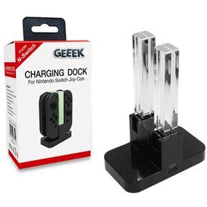 Geeek Oplaadstation Charging Dock Nintendo Switch Joy-Con 4 Controllers