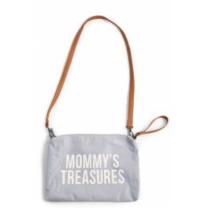 Childhome Collections Mommy Clutch Childhome Grey Off White