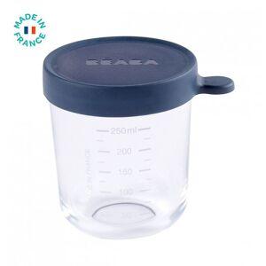 Bewaarpotje Glas Béaba 250ml Donkerblauw