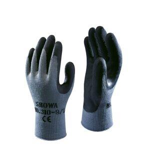 Showa 310 Latex werkhandschoen - Zwart, 10 (XL)  - Zwart - Unisex