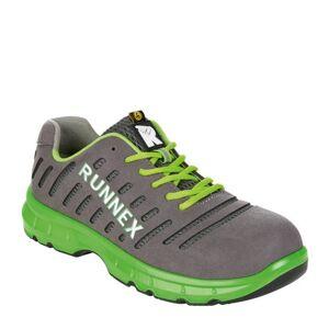 Runnex 5170 Flexstar lage schoen S1P-ESD-SRC - Grijs   Groen, 50  - Grijs   Groen - Heren, Unisex