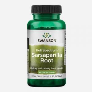 Swanson Health Sarsaparilla 450mg - Swanson Health - 60 Capsules