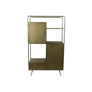 Countryfield Industriële brons ''Broomfield'' cabinet - L37,5xB81,5xH139,5 cm