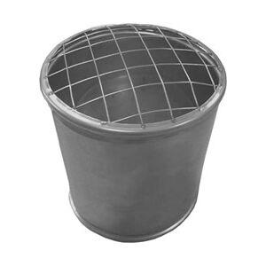 Econox Topsectie open met gaas diameter 180 mm